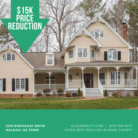 *15K PRICE REDUCTION* in RALEIGH NC!