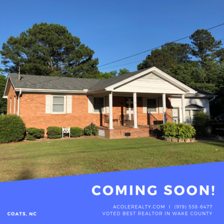 COMING SOON to Coats, NC!