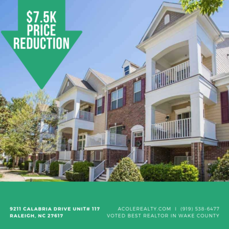 PRICE REDUCTION *7.5K OFF* in Raleigh, NC!!