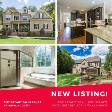 NEW Active Listing in Raleigh, NC!!