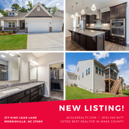 *NEW LISTING* In Morrisville, NC!