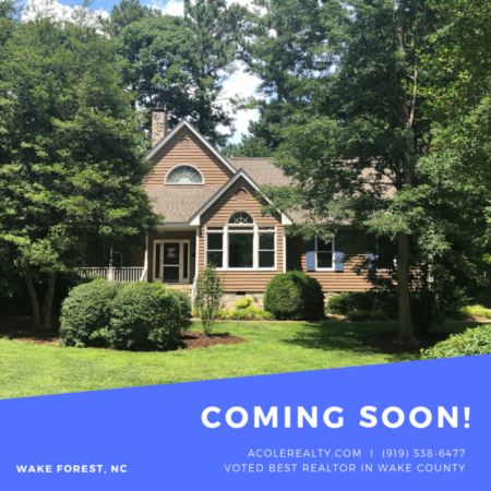 *COMING SOON* to Wake Forest, NC 27587!