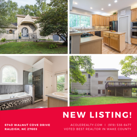 *NEW LISTING* 5 Bedroom home in Raleigh, NC!