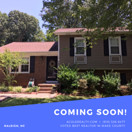 *COMING SOON* Raleigh home with COMPLETELY REMODELED KITCHEN!