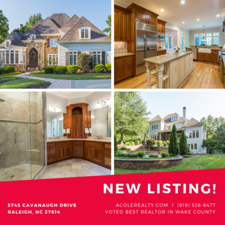 *NEW LISTING* in North Raleigh- The Registry!