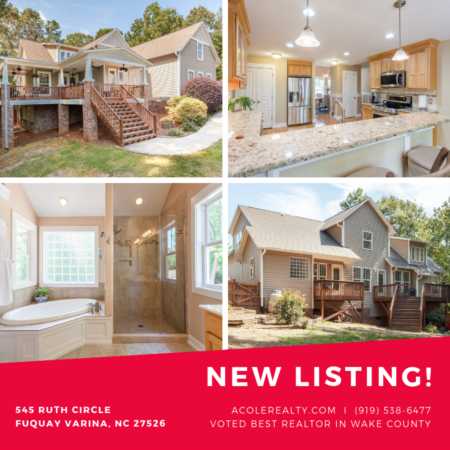 *NEW LISTING* Beautiful home in Fuquay Varina, NC 27526!