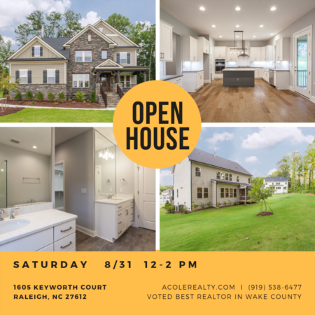 Open House: Saturday, August 31, 2019 from 12:00 PM - 2:00 PM