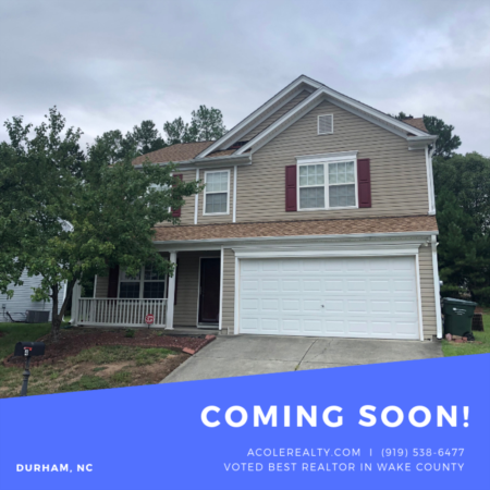 *COMING SOON* Conveniently located to RTP, Falls Lake, Brier Creek