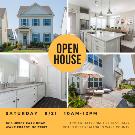 Open House: Saturday, September 21, 2019 from 10:00 AM - 12:00 PM
