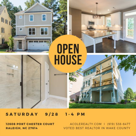 *OPEN HOUSE* Saturday, September 28, 2019 from 1:00 PM - 4:00 PM