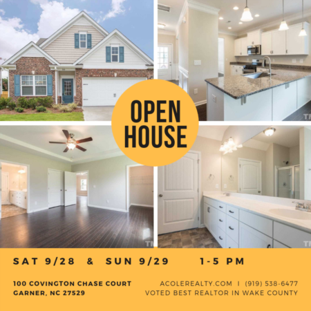 Open House: September 28 & 29, 2019 from 1:00 PM - 5:00 PM