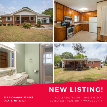 *BACK ON THE MARKET* Convenient one story living in this adorable brick Ranch style home!
