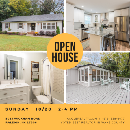 Open House: Sunday, October 20, 2019 from 2:00 PM - 4:00 PM