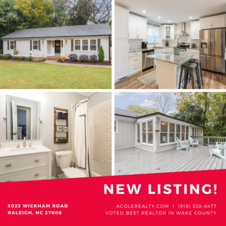 COMPLETELY RENOVATED Inner Belt-line ranch style home!