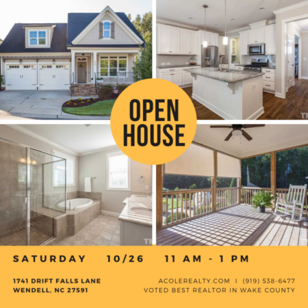 Open House: Saturday, October 26, 2019 from 11:00 AM - 1:00 PM