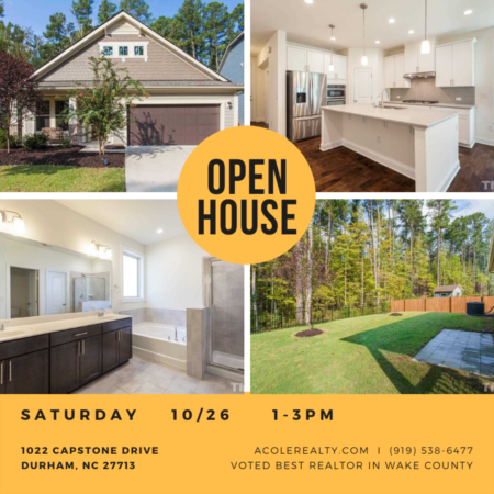 Open House: Saturday, October 26, 2019 from 1:00 PM - 3:00 PM