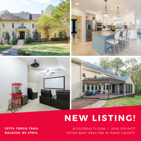 *NEW LISTING* Beautiful custom hm in highly desired N. Raleigh Community