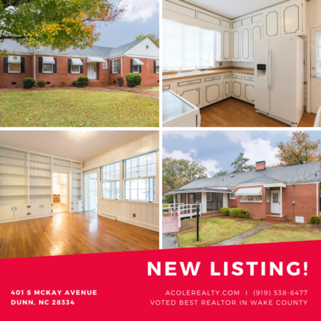 *NEW LISTING* In Dunn, NC with Tons of History!