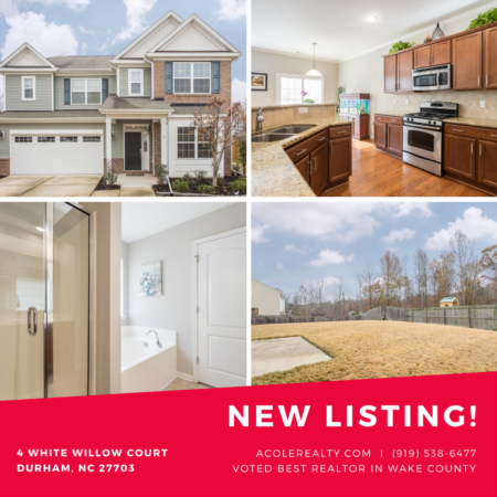 *NEW LISTING* 5 bedroom house in Durham, NC!
