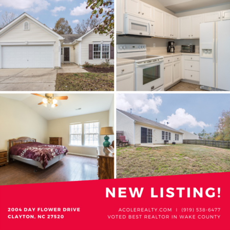 *NEW LISTING* Cozy ranch home in flourishing Clayton town
