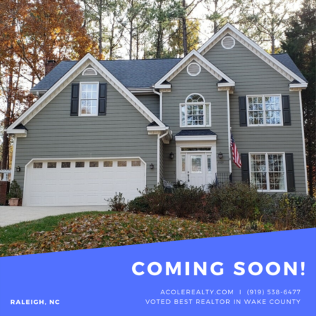 *COMING SOON* to Stonehenge Subdivision in Raleigh, NC!