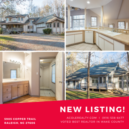 *NEW LISTING* Open floor plan with vaulted & high ceilings.