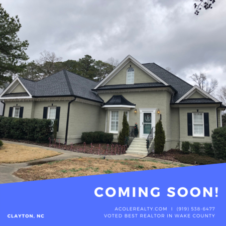 *COMING SOON* Beautiful Clayton Home w/ HUGE Bonus & Finished Basement!!