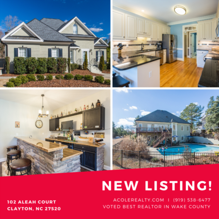 *NEW LISTING* Gorgeous Clayton Home w/ main floor living & Finished Basement!