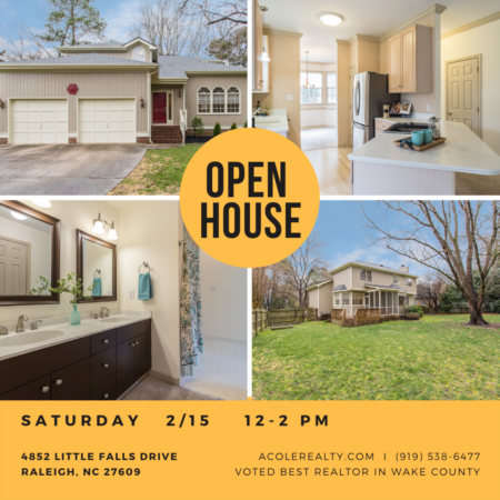 *OPEN HOUSE* This Saturday, 2/15, from 12-2pm!