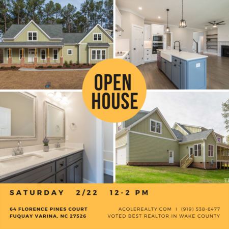 Open House: Saturday, February 22, 2020 from 12:00 PM - 2:00 PM