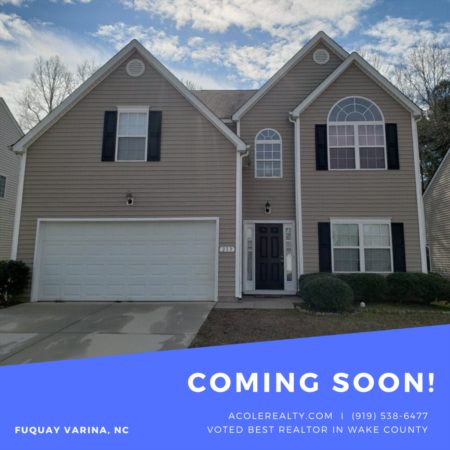 *COMING SOON* Open floor plan! Only one owner!