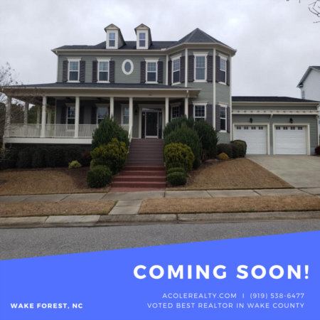 *COMING SOON* Great cul de sac location!