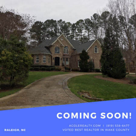 *COMING SOON* Brick home in North Raleigh!