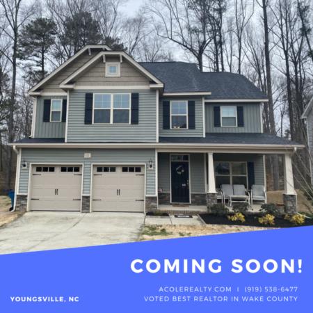 *COMING SOON* 2 story foyer! Spacious open floorplan!