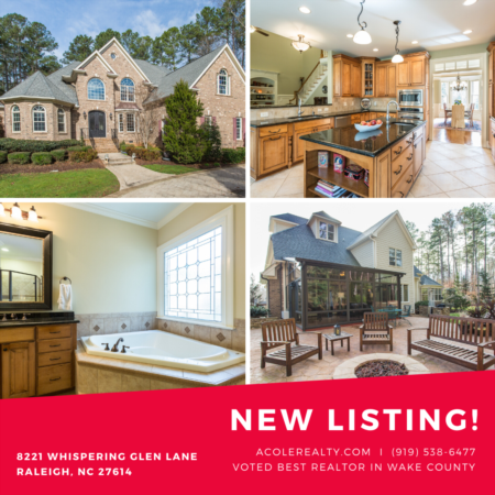 *NEW LISTING* Beautiful Brick Transitional Home w/ circular driveway on over 2 acre lot!