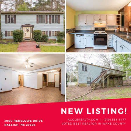 *NEW LISTING* NEW Roof & NEW Water Heater in 2018! 1st floor master!