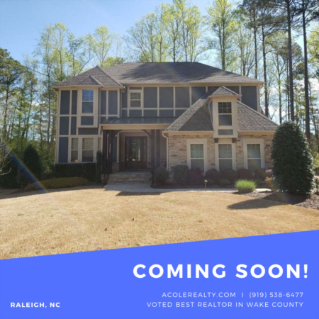 *COMING SOON* Home in North Raleigh!