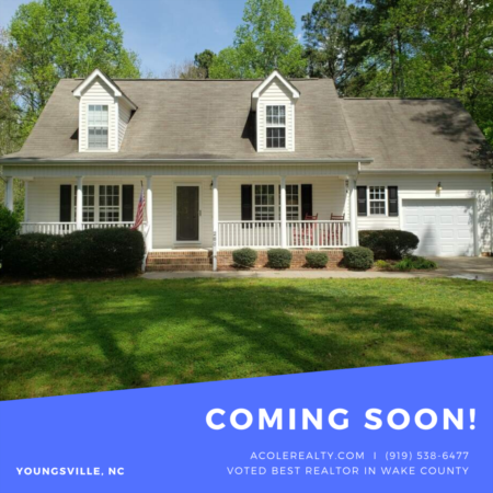*COMING SOON* New Home in Pigeon Point Subdivision in Youngsville!