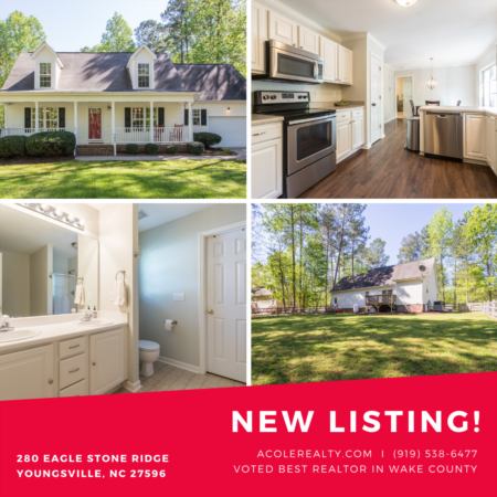 *NEW LISTING* Beautiful home in Youngsville, NC!