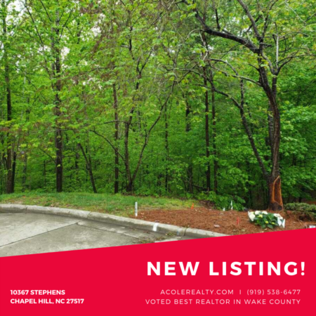 *NEW LISTING* Private cul-de-sac wooded lot in Chapel Hill!