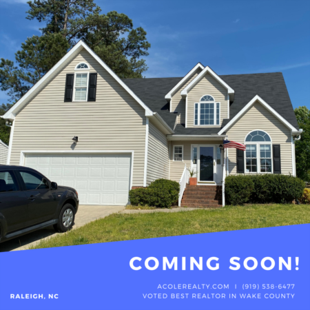 *COMING SOON* Home in Northeast Raleigh!