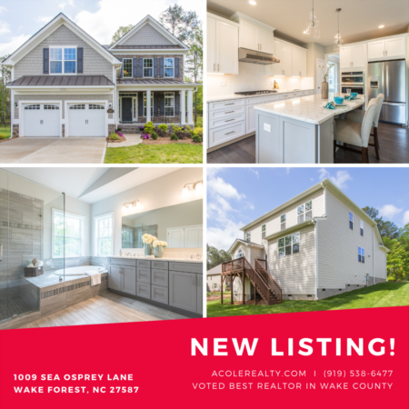 *NEW LISTING* Final New Construction home in the popular Carolina Collection in the award-winning community of Hasentree!