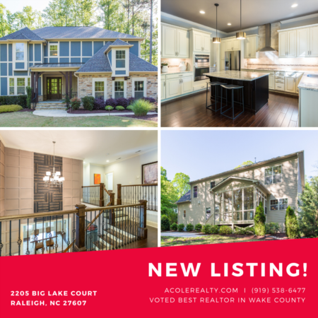 *NEW LISTING* Luxury home in Woods At Umstead!