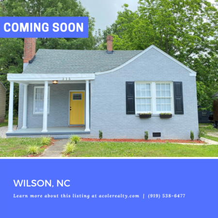 *COMING SOON* All brick bungalow, renovated in 2019.