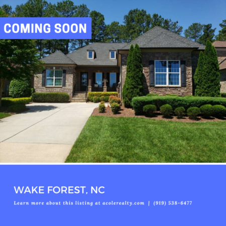 *COMING SOON* All brick luxury ranch home overlooking the 10th & 18th fairway in Hasentree