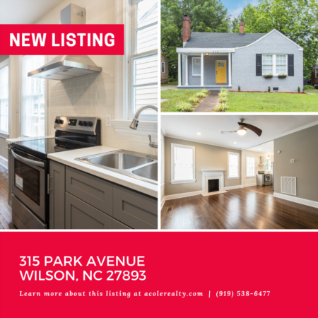 *NEW LISTING* Historical all brick bungalow, renovated in 2019!