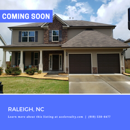 *COMING SOON* Stunning 2 Story Foyer entrance with hardwoods!