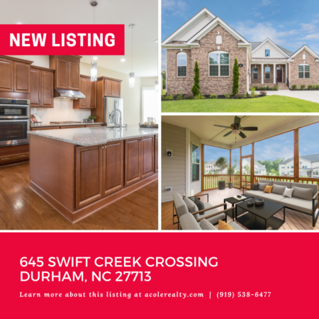 *NEW LISTING* Upgrades Galore! Open Concept Ranch Home in the highly desired area of Southpoint in Durham.