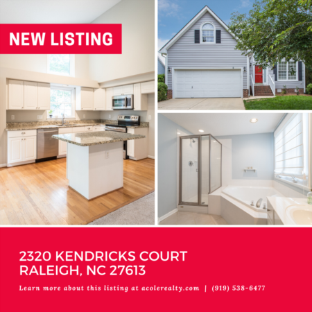*NEW LISTING* Prime Location in North Raleigh.