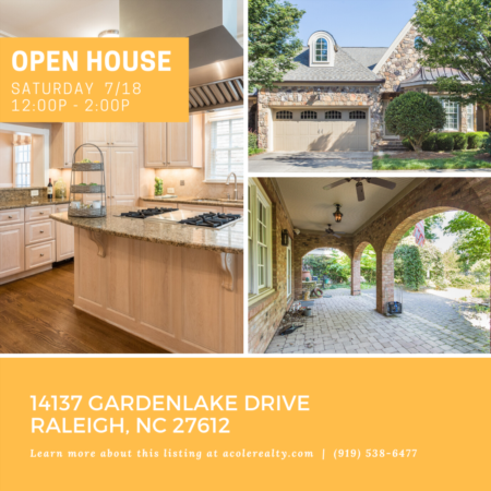 *OPEN HOUSE* This Saturday, 7/18, from 12:00 PM - 2:00 PM